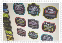 """Prepare your classroom for Back-to-School with the Chalk It Up! Classroom Jobs Bulletin Board, Behavior Clip Chart and colorful Pencil 6"""" Cut-Outs!"""