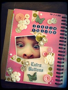 """""""Little Things"""" Smashbook page #smashbooking #smash #littlethings"""