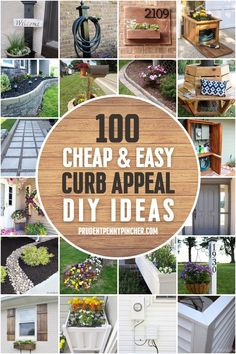 Front Yard Patio, Front Yard Decor, Front Yard Landscaping, Front Yard Ideas, Front Yards, Front Porches, Curb Appeal Landscaping, Front Yard Fence Ideas Curb Appeal, Curb Appeal Porch