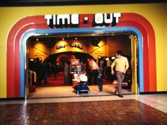 this looks identical to the time out in sharpstown mall in the 80s.  i spent many a quarter there.