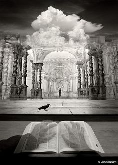 Jerry Uelsmann's surreal imagery has inspired a generation of digital artists, despite the fact that he's done almost all of it in a wet darkroom