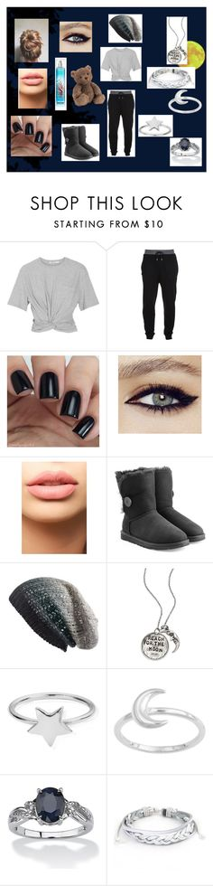 """Sleepless Nights"" by catmarsalia on Polyvore featuring T By Alexander Wang, McQ by Alexander McQueen, LASplash, UGG Australia, Michael Stars, Alisa Michelle, ChloBo, Palm Beach Jewelry and West Coast Jewelry"