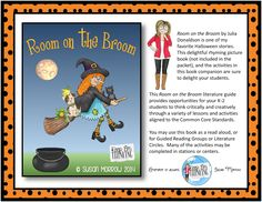 Room on the Broom - a Great Picture Book for Halloween