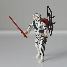 1980's GI Joe Action Figure, Storm Shadow - Cobra Ninja Warrior Complete with All Original Accessories