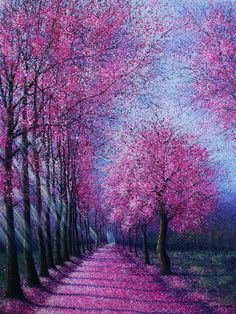 Art Discover New Ideas Painting Oil Nature Tree Art Impressionist Paintings Landscape Paintings Contemporary Abstract Art Dot Painting Abstract Tree Painting Tree Art Beautiful Landscapes Beautiful Paintings Of Nature Amazing Art Impressionist Paintings, Landscape Paintings, Beautiful Paintings, Beautiful Landscapes, Contemporary Abstract Art, Tree Art, Painting & Drawing, Dot Painting, Abstract Tree Painting
