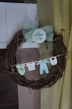 For a baby shower decoration or when you bring home baby