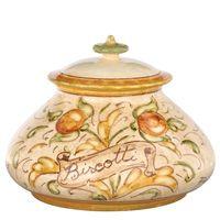 Affresco pattern, a beautiful covered dish, Vietri