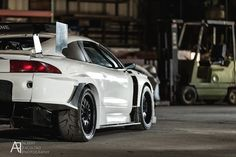 Inspiration for body kit. Time Attack Eclipse Aero Wing Diffuser Fenders