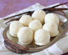 Vanilla Bean Truffles