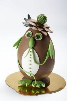 Easter Chocolate, Chocolate Art, Chocolate Treats, Homemade Chocolate, Chocolates, Chocolate Heaven, Divine Chocolate, Chocolate Showpiece, Chocolate Sculptures