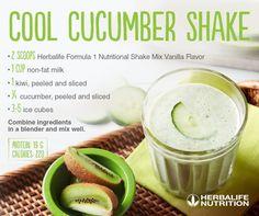 #shake #cucumber #breakfast #herbalife