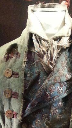 Detail of Gavroche's costume
