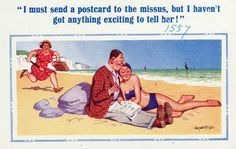 postcards 06 Funny: Banned saucy seaside postcards