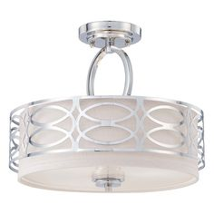 Shop Nuvo Lighting  60-4 3 Light Harlow Semi Flush Ceiling Light at ATG Stores. Browse our semi flush ceiling lights, all with free shipping and best price guaranteed.