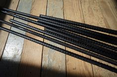Hanging thermal curtains - Rebar Curtain Rods