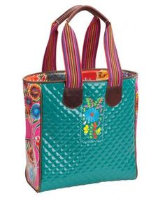 I adore this tote!! I have room for everything I need and then some! I am thinking of adding a new color to my Christmas list :)
