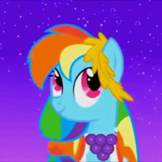 Rainbow Dash at the Gala - My little pony friendship is magic