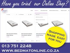 Shopping made easy, the internet has revolutionized the way we shop with all the benefits of online shopping how can you not?  We offer online shopping, saving our customers time whilst having more control. #bedmat #onlineshop #shoppingmadeeasy