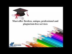 How to choose a superior paper writing company?