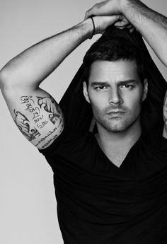 Ricky Martin - The Face, the bod and that voice.  Some people have it all.