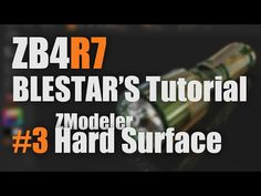 ZBrush4R7 新機能解説 #3 ZModeler Hard Surface - YouTube