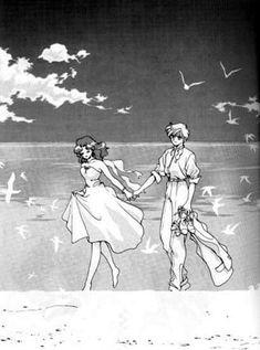 Read from the story ¡Galería HaruMichi! Sailor Moon Funny, Sailor Moon Manga, Sailor Moon Art, Sailor Moon Crystal, Sailor Uranus, Sailor Neptune, Old Anime, Anime Manga, Anime Art