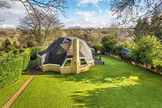 Back to the future in Tatsfield: rare geodesic dome house in one of Kent's quaintest country villages is for sale