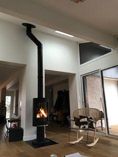 Poêle gaz GF370 Jøtul installé et mise en service par nos soins chez notre cl... Sarl, Welcome To The Future, Woodburning, Service, Foyer, Stove, Kitchen, Design, Home Decor