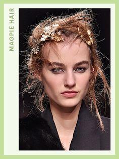 Fashion Week Hair - Alexander McQueen | allure.com