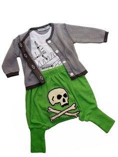 Silhouette bébé esprit Pirate