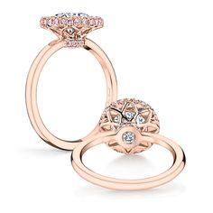 Iris-Rose-Round-Cut-Diamond-Rose-Gold-Engagement-Ring-Jean-Dousset