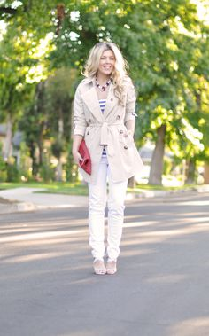 ...love Maegan ~ Fashion, DIY, Home, Lifestyle: July 4th Outfit Inspiration ~ Chic Nautical w/ Red, White, & Blue, Obviously ~ blog