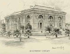 The Rosenberg Library opened in A year later it absorbed the collections of the Galveston Public Library, thus formalizing its new role as the public library for the city of Galveston. Galveston Texas, Galveston Island, Texas Tourism, Gulf Coast Beaches, Visit Texas, Tourism Marketing, Staycation, Taj Mahal, Old Things