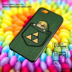 Pocket Zelda Case for iPhone 4/4S/5/5S/5C iPod by hamamerajarela, $13.99