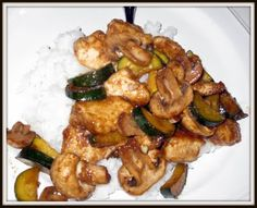 Panda Expres Copycat Mushroom Chicken!  5 out of 5! My friends and I loved it, went great with fried rice!