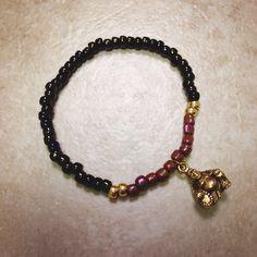Laughing Buddha Bracelet on Etsy, $14.00