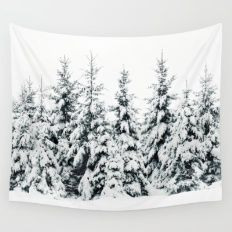 Wall Tapestry featuring Snow Porn by Tordis Kayma