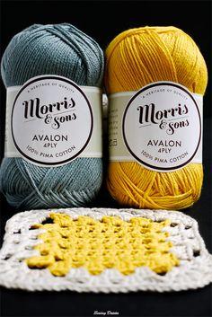 Crochet: Yellow Brick Blanket-pretty colors