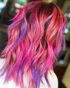 53 Box Braids Hairstyles That Rock - Hairstyles Trends Cute Hair Colors, Cool Hair Color, Pastel Hair, Pink Hair, Blonde Hair, Box Braids Hairstyles, Trendy Hairstyles, Hair Colorist, Haircolor