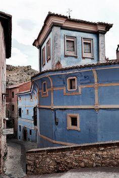 La Casa Azul, s. XVII (Albarracin - Spain)