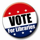 vote for libraries