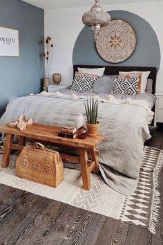 Home Bedroom, Bedroom Decor, Bedroom Ideas, Dream Bedroom, Master Bedroom, Wooden Bedroom, Bedroom Colors, New Room, Cozy House