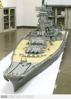 I want this Lego Battleship.