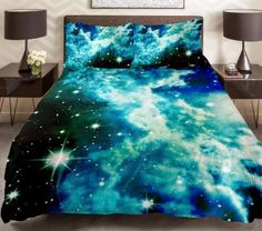 Beautiful galaxy bedroom set