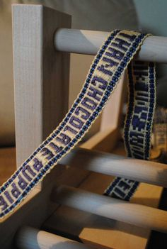 Rebecca Mezoff, Tapestry Artist: Inkle weaving... and an inkle loom for sale