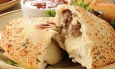 Stay Away From Messy Dishes: Try This Philly Cheesesteak Calzone!