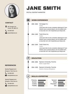 Infographic Resume Templates and Design Tips to Help You Land That Job -- Spice up a traditional resume template with subtle visuals If you like this cv template. Check others on my CV template board :) Thanks for sharing! Graphic Design Resume, Resume Design Template, Creative Resume Templates, Resume Templates Word, Professional Resume Template, Free Cv Template, Graphic Designer Cv, Creative Resume Design, Online Resume Template