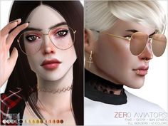 Last CC for this year, hope you enjoy these new glasses.~ And we wish that your start into 2018 will be fantastic! Found in TSR Category 'Sims 4 Female Glasses'