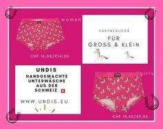 UNDIS  www.undis.eu  Die handgemachte Unterwäsche im Partnerlook für die ganze Familie. Lustige Motive und flippige Farben für Groß und Klein! #undis #bunte #Kinderboxershorts #Lustigeboxershorts #boxershorts #Frauenunterwäsche #Männerboxershorts #Männerunterwäsche #Herrenboxershorts #undis #bunteboxershorts #Unterwäsche #handgemacht #verschenken #familie #Partnerlook #mensfashion #lustige #vatertagsgeschenk #geschenksidee #eltern Crop Tops, Women, Fashion, Self, Mother Daughters, Parents, Daddy And Son, Men's Boxer Briefs, Great Gifts