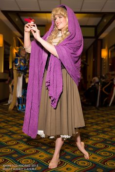 Artful Anarchy Cosplay of Briar Rose, Princess Aurora, The Sleeping Beauty | Anime Los Angeles 2015